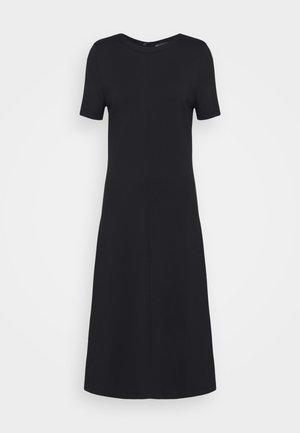 PONTE MIDI - Jersey dress - black