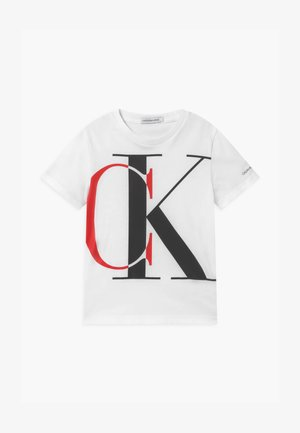 EXPLODED MONOGRAM - Print T-shirt - white