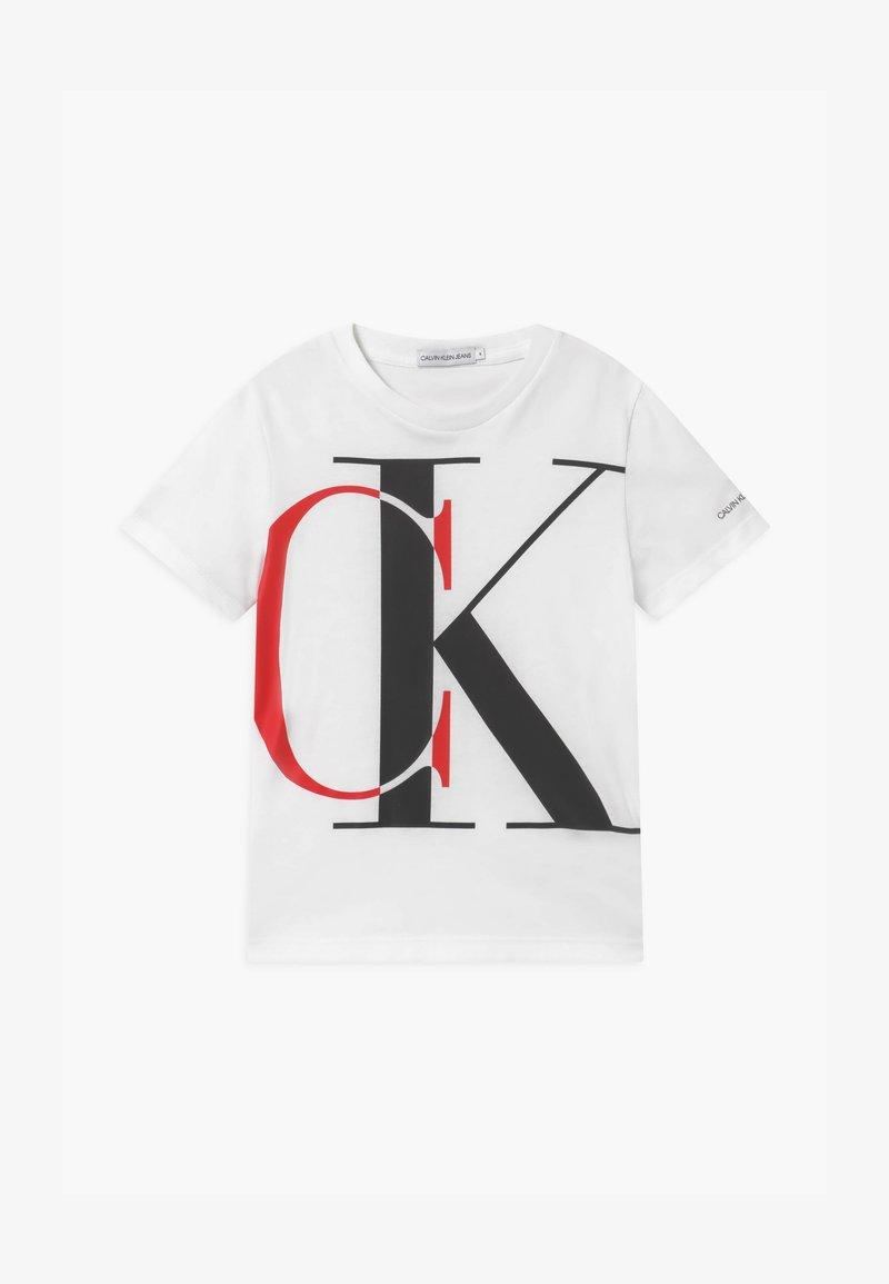 Calvin Klein Jeans - EXPLODED MONOGRAM - Print T-shirt - white