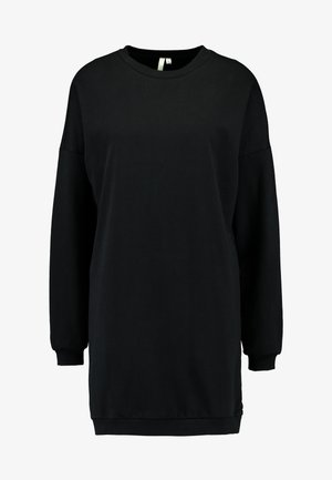 OVERSIZE SLIT - Sweatshirt - black