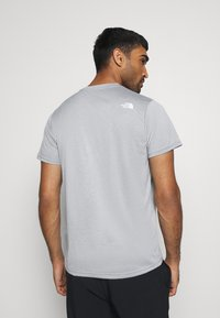The North Face - MENS REAXION EASY TEE - Triko s potiskem - mid grey heathr - 2
