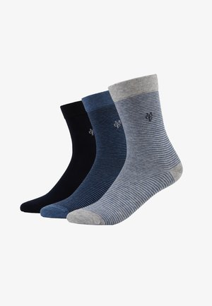 3 PACK - Socks - navy