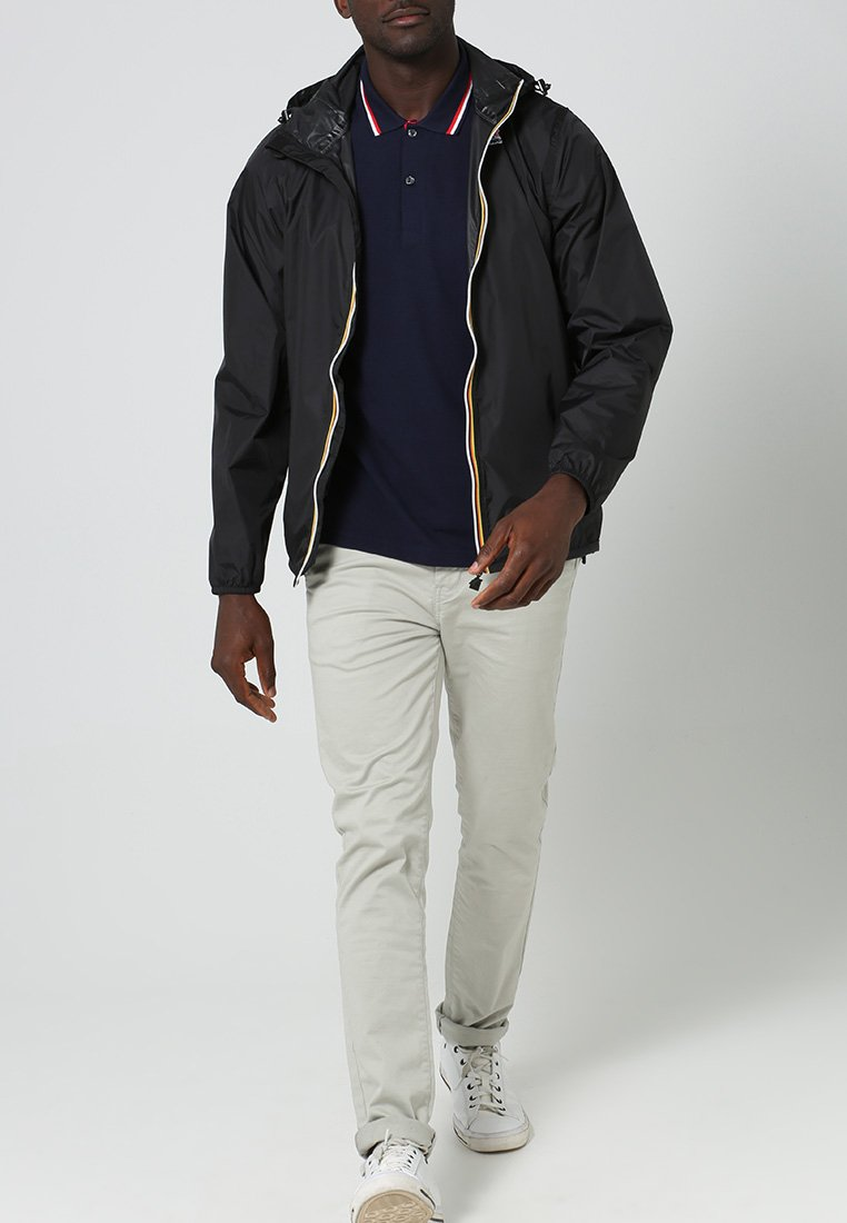 K-Way - LE VRAI CLAUDE UNISEX - Waterproof jacket - black
