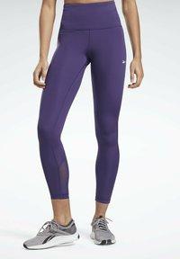 Reebok - LUX SPEEDWICK LEGGINGS - Leggings - purple - 0