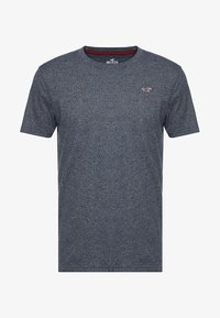 Hollister Co. - CORP ICON CREW - Print T-shirt - navy - 3