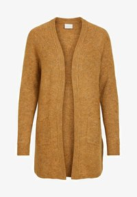 Vila - OFFENER RIPPENSTRICK - Cardigan - cathay spice - 5