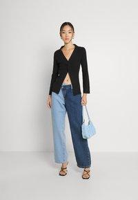Fashion Union - PHOEBE JUMPER - Trui - black - 1