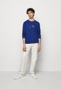 Emporio Armani - Sweatshirt - light blue - 1