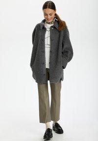 Soaked in Luxury - Winter coat - castor gray - 1