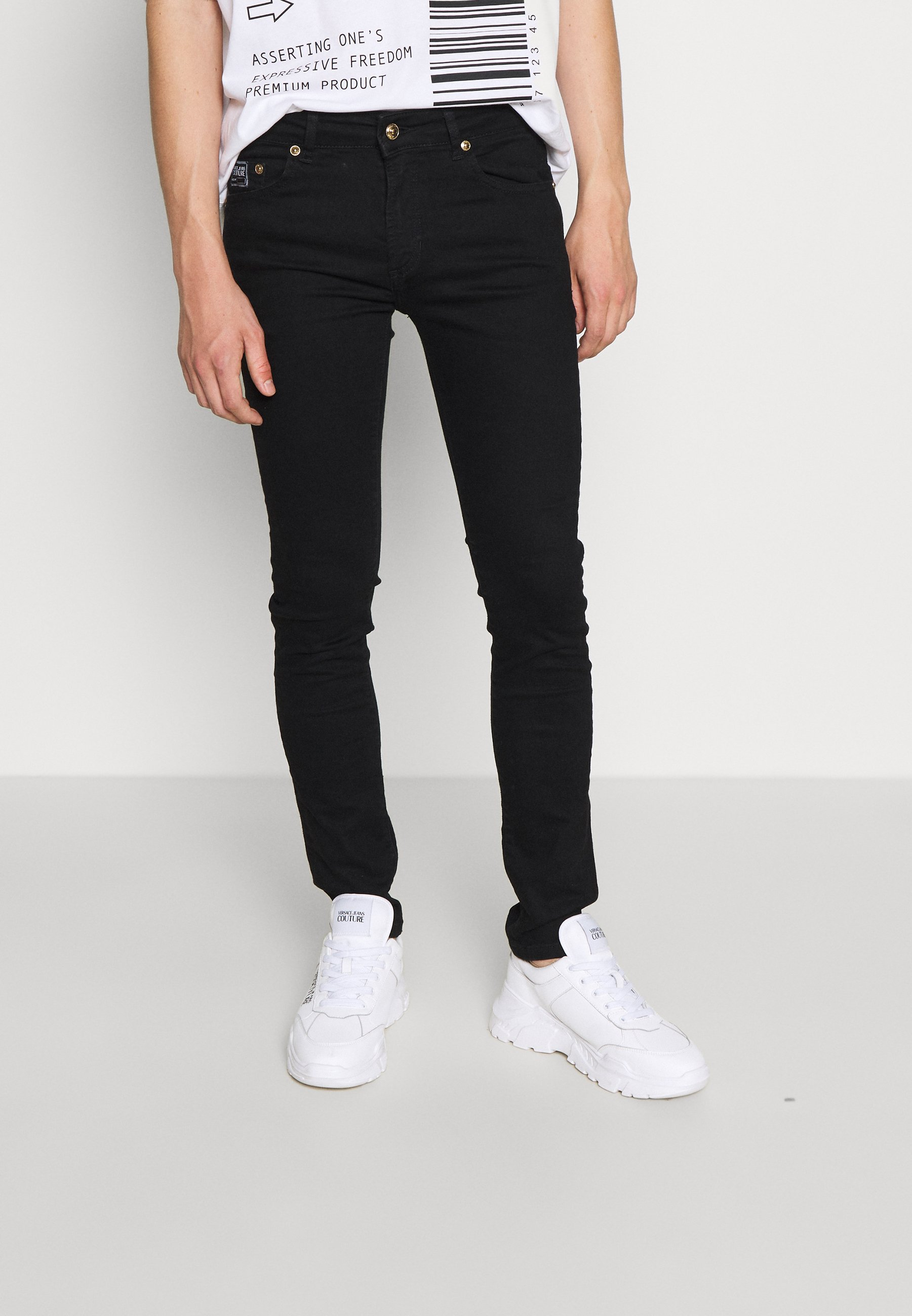 Uomo RINSE - Jeans slim fit - black