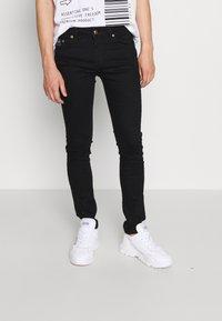 Versace Jeans Couture - RINSE - Jean slim - black - 0