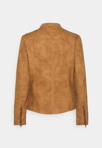 ONLY - ONLAVA BIKER - Faux leather jacket - toasted coconut - 1