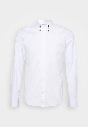 STARBOLT PRINTED COLLAR - Shirt - white/black