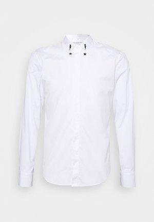 STARBOLT PRINTED COLLAR - Vapaa-ajan kauluspaita - white/black