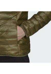 adidas Performance - VARILITE HOODED DOWN JACKET - Winter jacket - focus olive - 6