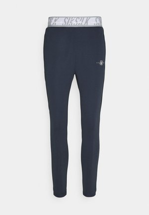 SCOPE TAPE TRACK PANT - Pantaloni sportivi - navy