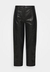 DESIGNERS REMIX - TALIA PANTS - Trousers - black - 3