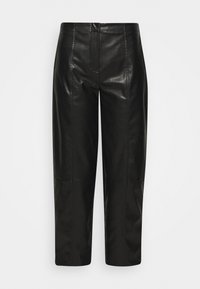 TALIA PANTS - Trousers - black