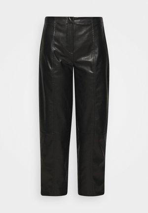 TALIA PANTS - Kalhoty - black