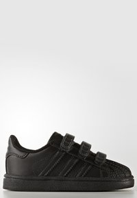 adidas Originals - SUPERSTAR CF  - Baby shoes - core black - 5