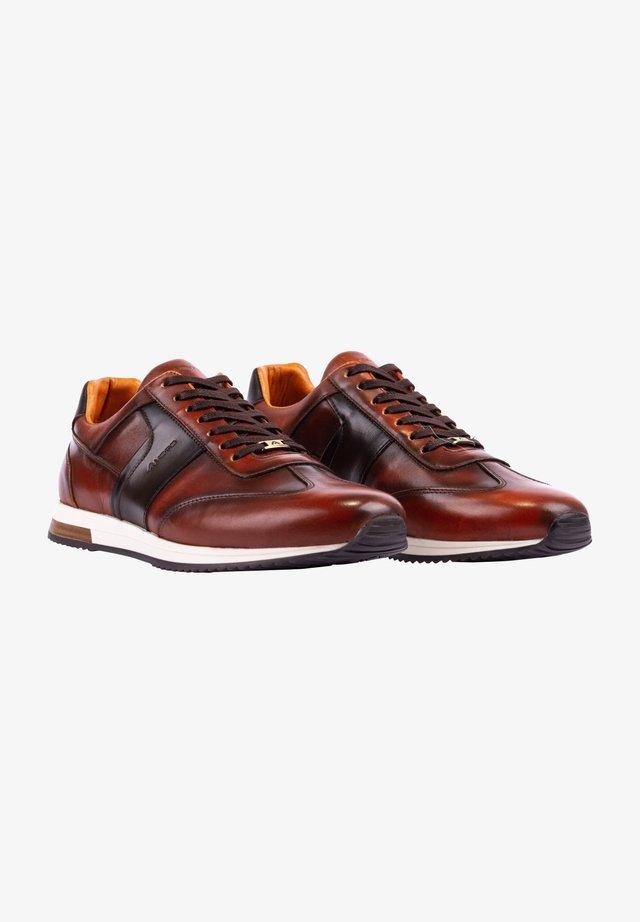 SLOW - Trainers - cognac-brown