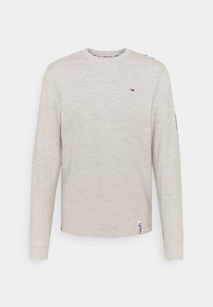 CREW NECK SNIT - Longsleeve - silver grey