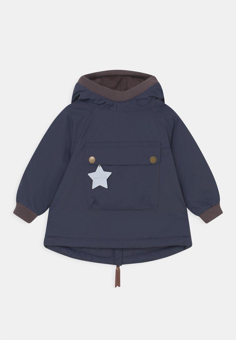 MINI A TURE - BABY WEN ANORAK - Winter coat - blue nights