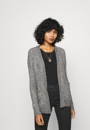 AMARA - Cardigan - dark grey melange