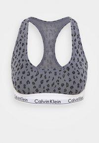 Calvin Klein Underwear - MODERN UNLINED BRALETTE - Bustier - grey - 3