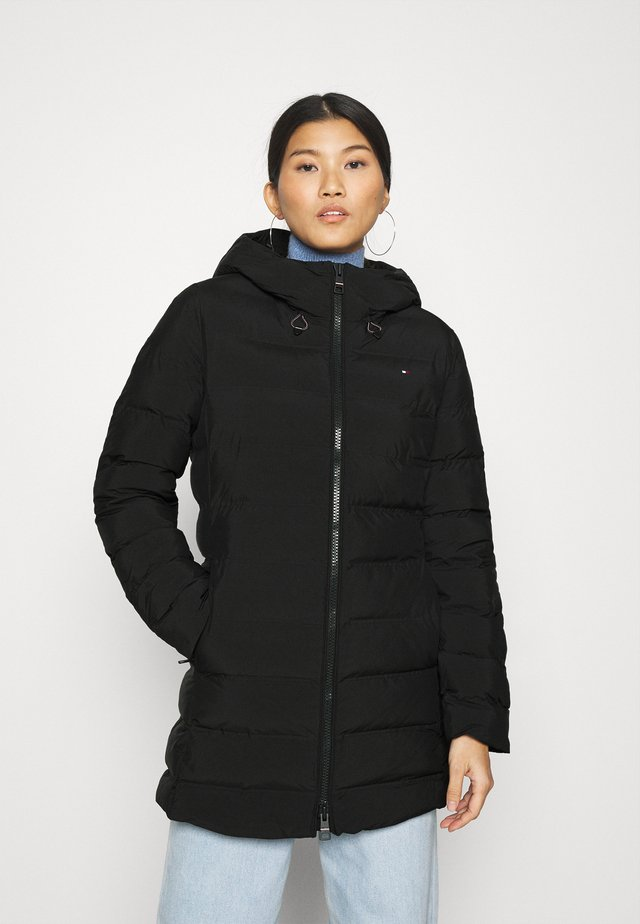 SEAMLESS SORONA COAT - Light jacket - black