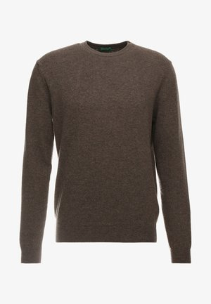 BASIC CREWNECK - Jumper - brown