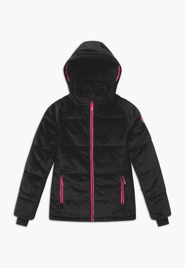 FLUMET GRLS QUILTED SKI - Snowboard jacket - schwarz