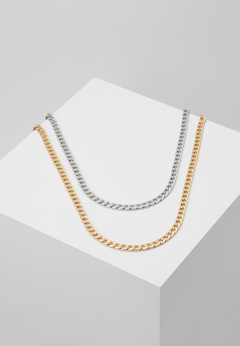 SMOOTH CHAIN NECKLACE 2 PACK SET