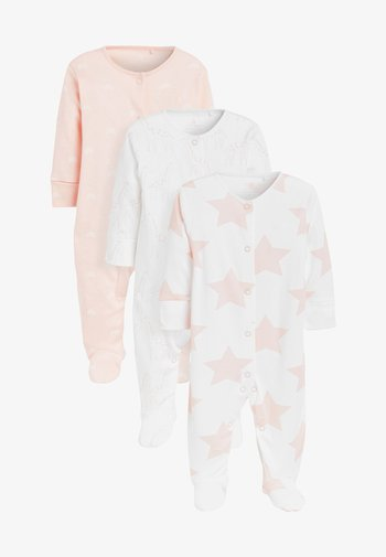 3 PACK - Sleep suit - pink