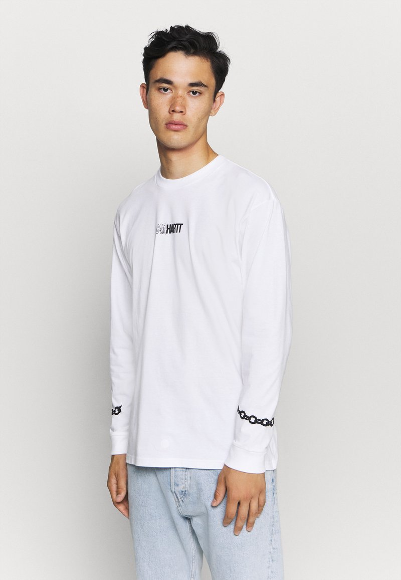 Carhartt WIP - TWISTED TRUTH  - Long sleeved top - white