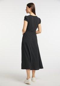usha - Shirt dress - schwarz - 2