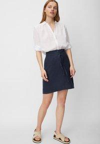 Marc O'Polo - A-line skirt - silent sea - 1