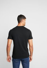 GAP - CORP LOGO - Print T-shirt - true black - 2