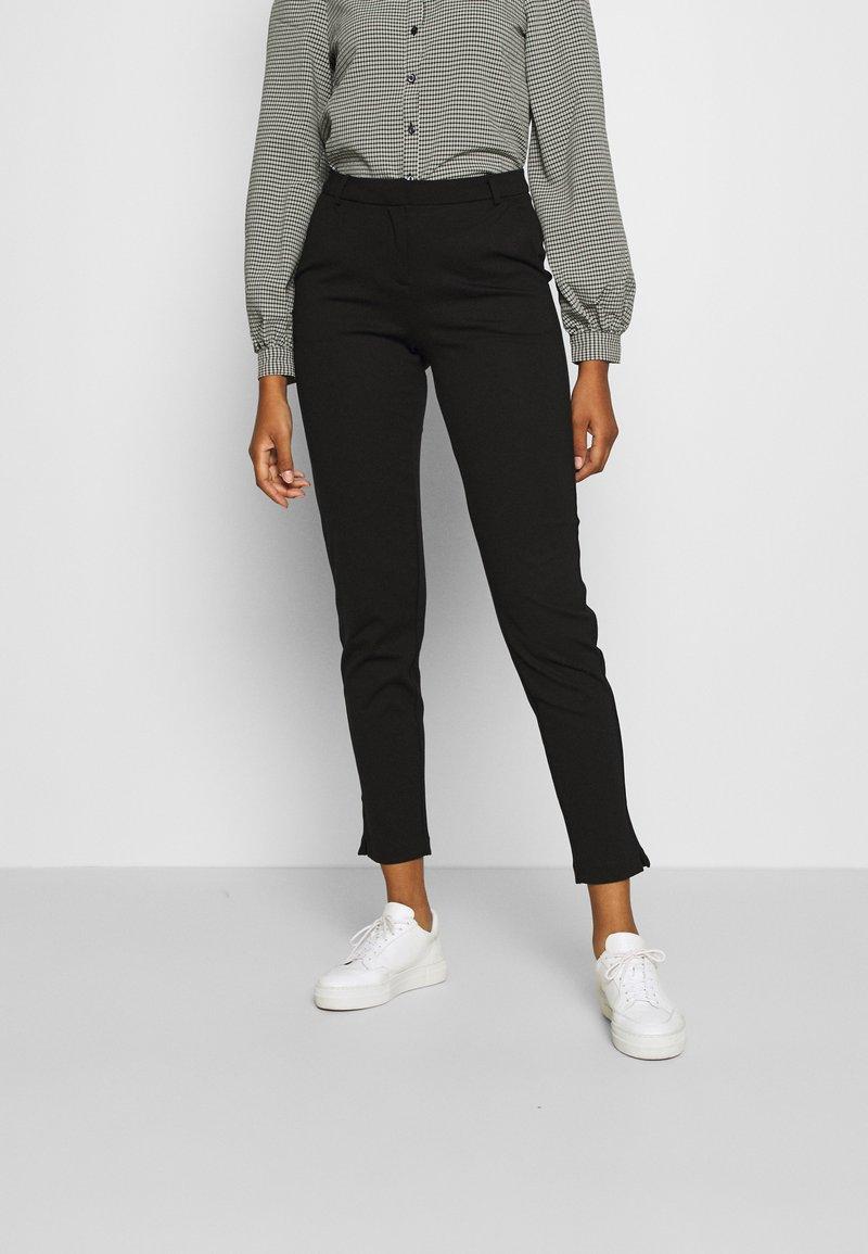Vero Moda - VMLILITH MR ANKLE PANT - Trousers - black