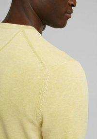 Esprit - Jumper - light yellow - 5