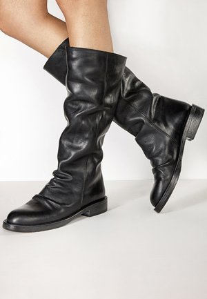 Platform boots - blackblk