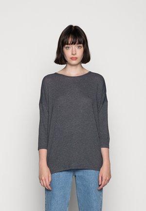 VMCARLA  - Long sleeved top - black/melange