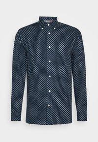 FLORAL GEO PRINT - Skjorta - blue