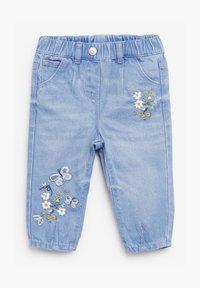 Next - BUTTERFLY - Straight leg jeans - blue denim - 0