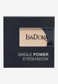 IsaDora - SINGLE POWER EYESHADOW - Eye shadow - bare beige - 2