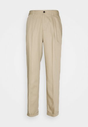 PINO PANTS - Trousers - dark sand