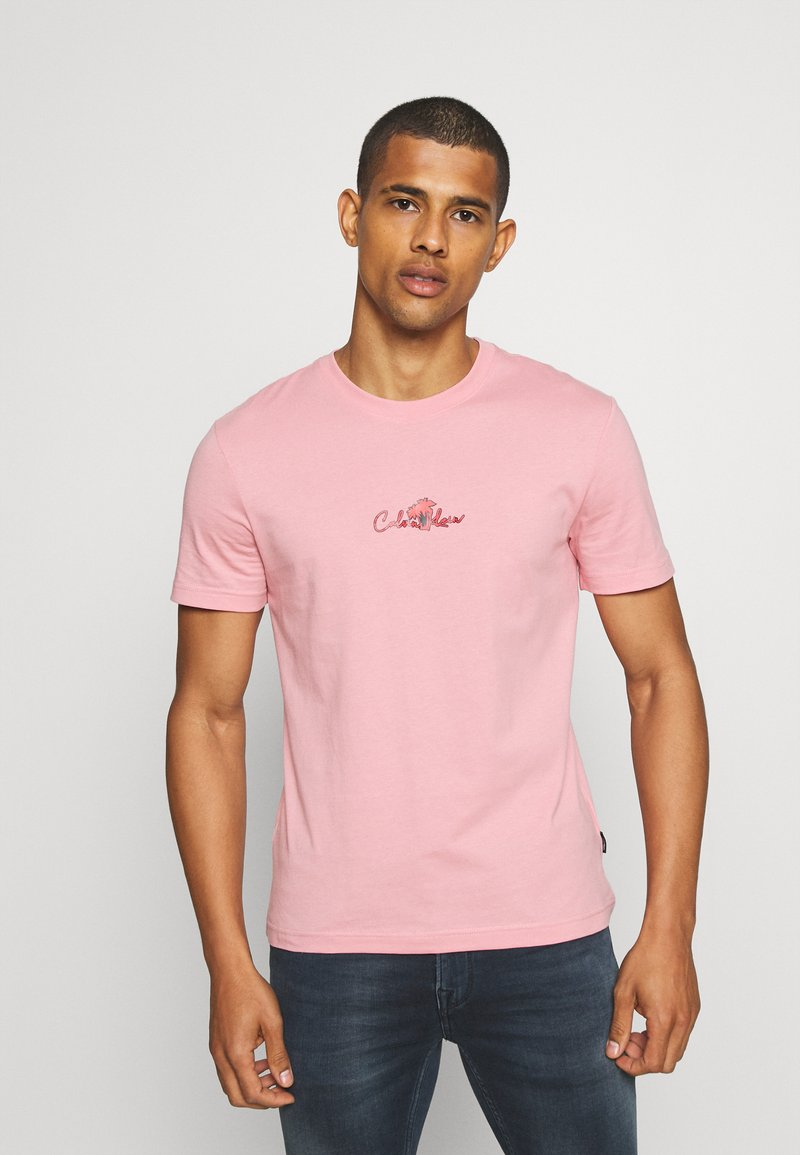 Calvin Klein - SUMMER CENTER LOGO - T-shirt con stampa - blush