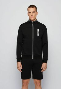 BOSS - SKAZ  - Zip-up hoodie - black - 0