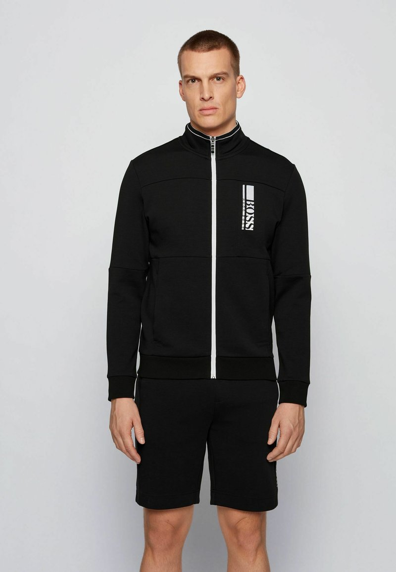 BOSS - SKAZ  - Zip-up hoodie - black