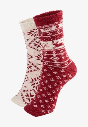 2 PACK - Socks - red